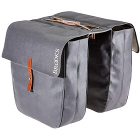 Brooks Brick Lane Roll-Up Panniers grey